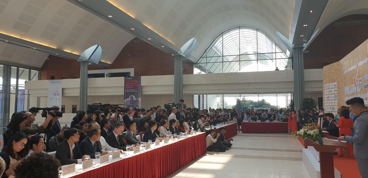 Toàn cảnh hội nghị diễn đàn Quốc gia 'Nâng tầm kỹ năng lao động Việt Nam'